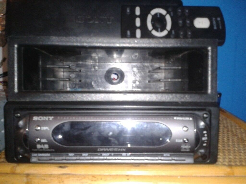 Sony car cd player with remote in harehills west yorkshire gumtree sony car cd player with remote publicscrutiny Images