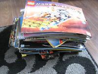 large selection lego build instructions