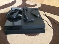 PlayStation 4 + all wires