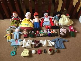 Knitted Dollies