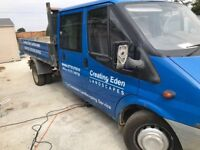 Transit double cab tipper spares or repairs