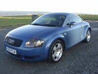 AUDI TT QUATTRO 250BHP,V REG,122K WITH FSH.APRIL MOT,4 OWNERS,RUNS AND DRIVES AMAZING,LOVELY EXAMPLE