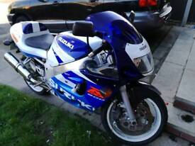 Gsxr600 srad swaps van or large estate