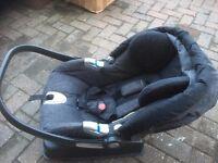 mama papas pram pushchair crib car seat baby bouncer + extras