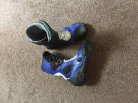 Ladies size 6 Motorbike boots hardly worn