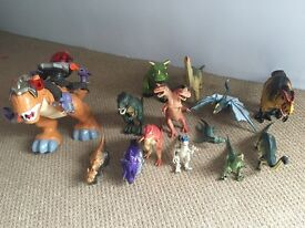Vtech Moving Dinosaur and 13 other Dinosaur figures