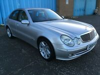 2005 Mercedes Benz E CLASS 2.7 cdi Auto , mot -May 2018 ,only 64,000 miles, 2 owners,bmw,audi,volvo