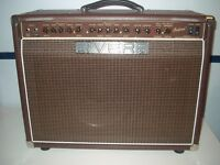 Rivera Sedona 55 Acoustic/Electric all tube guitar amplifier with protective dust-padded cover