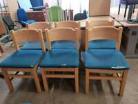 Reception chairs priced each