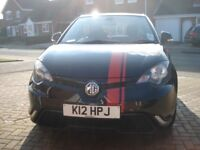 MG3 Style 1.5 %-Door Hatchback in Newton Black with Red MG3 Graphics