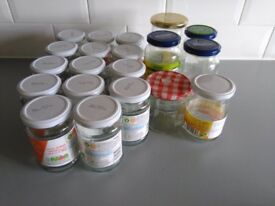 Jars - various sizes