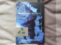 Work and Society: Sociological Approaches, Themes and Methods by T Strangleman + MORE BOOKS Business