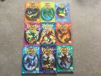 Beast Quest childrens books x9