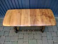 Ercol Colonial Plank Top Coffee Table Vintage Retro Mid Century Delivery Available