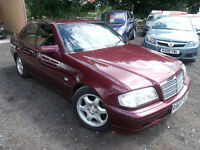 1997 Mercedes Benz C240 Sport Auto 2.4 long MOT runs great