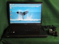 Toshiba Satelite 17 inch laptop. Full working order