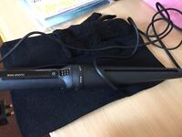 total new hair curler, with protection gloves