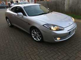 Hyundai Coupe SIII AUTO 2.0 3dr p/x considered Full service history leather 2009 (09 reg), Coupe