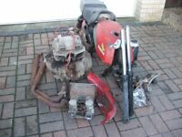 Honda Cb 250 Cafe/Racer Project With Super Dream Engine Or For Spares