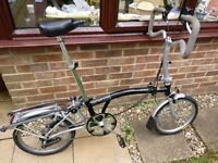 Brompton M3L folding bicycle