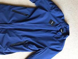 DKNY navy 3/4 length jacket