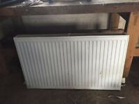 Three 1000mm X 600mm double panel radiator