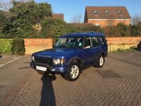Landrover discovery for sale not including personalised plate