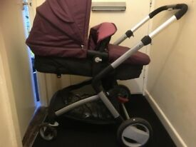 Purple Roam pushchair
