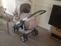 SILVER CROSS TRAVEL SYSTEM,PRAM,PUSHCHAIR,SLEEPOVER STAND, ACCESSORIES