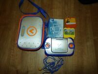 vTech V.Smile Pocket Learning System, with 2 games