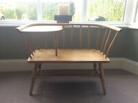 Ercol telephone table/bench
