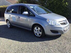 2010 Vauxhall zafira 1.9 life 7 seater mot 21/1/19 cookstown