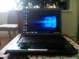 Toshiba Satellite laptop windows 7