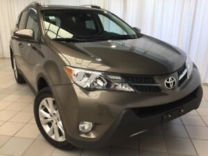 2015 Toyota RAV4 Limited: Low KMS