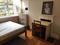 Good size double room for rent on Old Kent Road weekly cleaner two bathrooms terrace