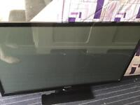"""Samsung 51"""" TV cracked screen - spares or repairs"""