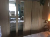 Bedroom suite and chest of drawers, lots of storage, VGC