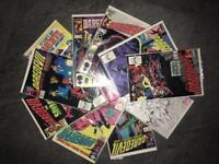 Daredevil set of ten comics