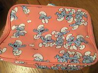 Smurf toiletries bag