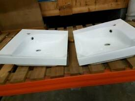 Pro fusion his and hers basins