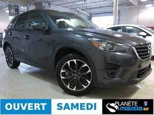 2016 MAZDA CX-5 AWD GT CUIR TOIT OUVRANT NAVIGATION