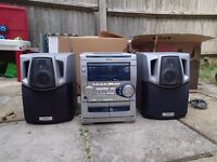 AIWA Stereo / Radio / CD player *** £5 or swap for a couple of Marvel comics DVDs***