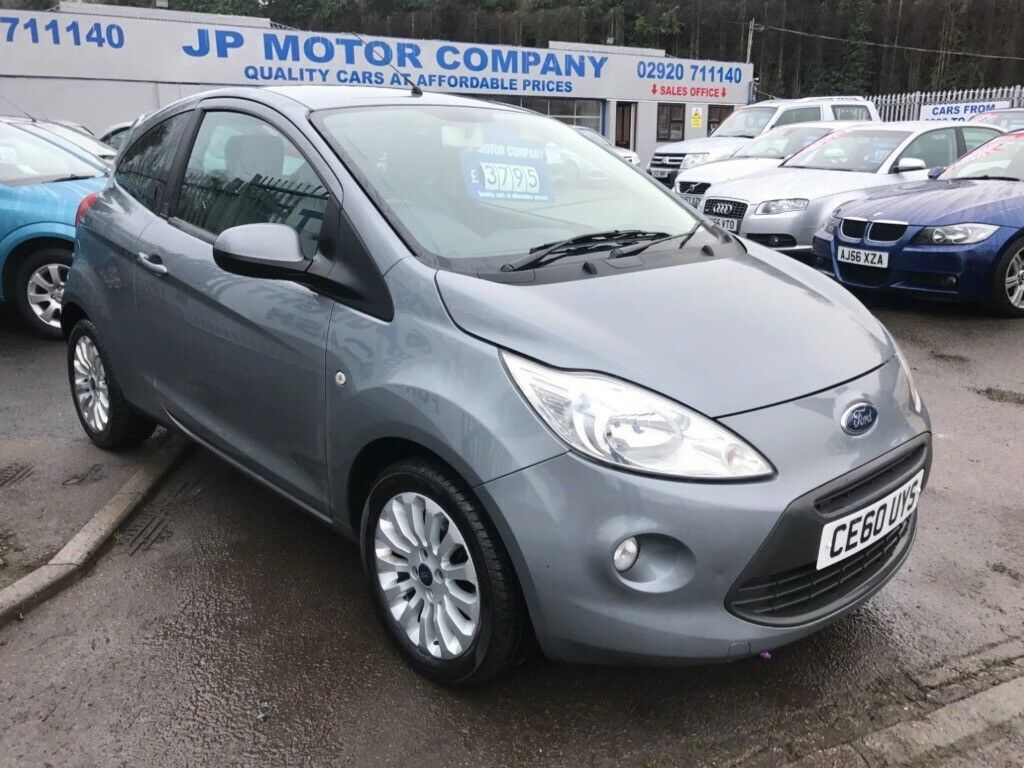 Ford Ka Zetec Grey Low Mileage  Tax Cheap First