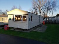 Deluxe 8 berth Caravan to rent at Seton Sands - Pets welcome.