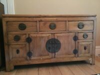 Solid wood Chinese Sideboard