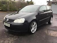 2006 VOLKSWAGEN GOLF 1.6 Fsi 6 SPEED PETROL eg Focus, Clio, Astra, Mini