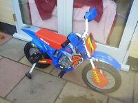 Injusa electric scrambler bike