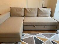 IKEA CORNER SOFA BED IN EXCELLENT CONDITION