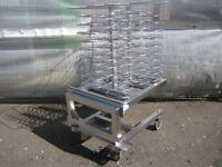 Combi oven Mobile plat finishing rack 60 plat