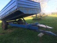 11*7 all steel trailer ram 100% lights all working